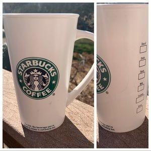 2007 Starbucks Mermaid checklist 20oz Tall mug